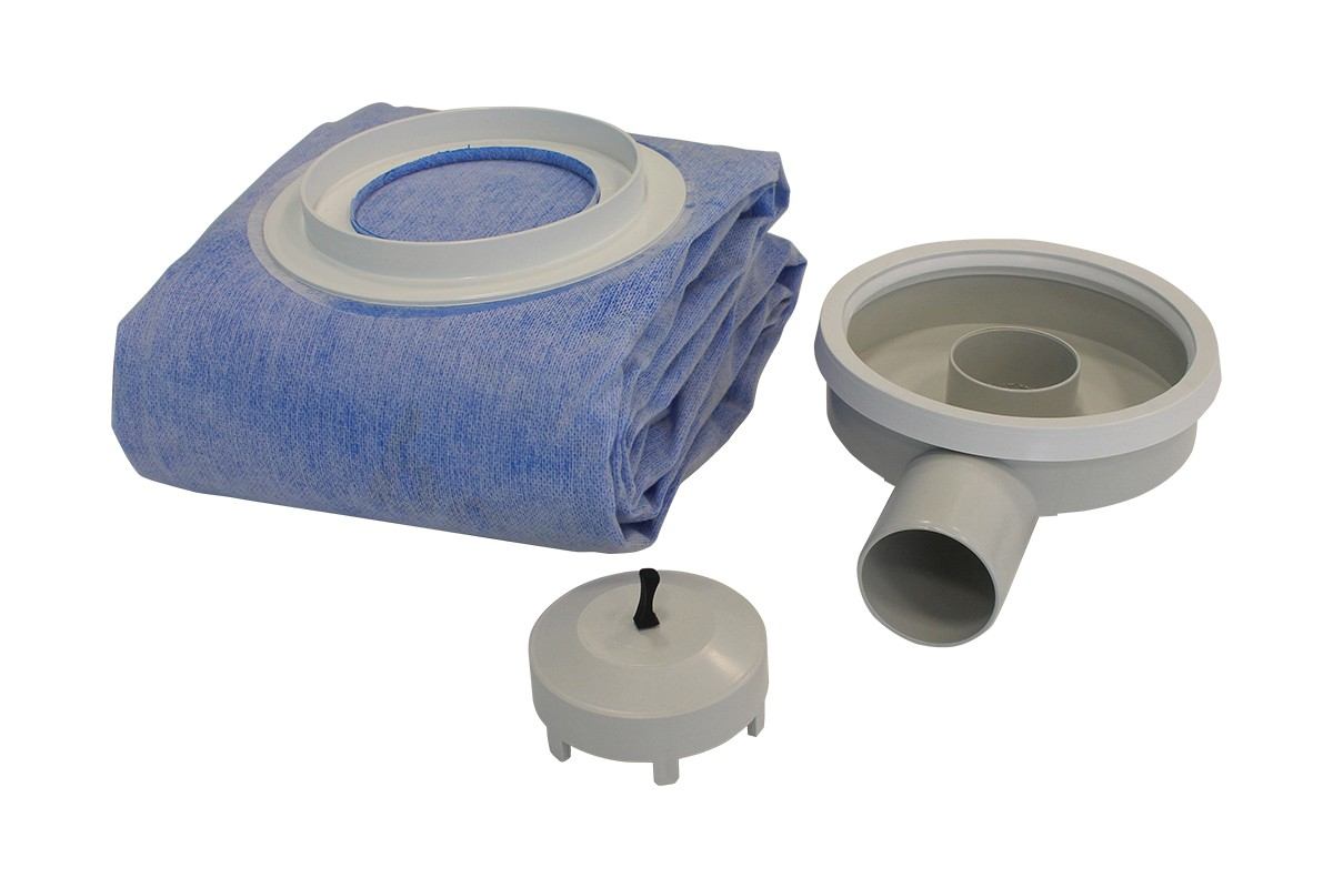 Система гидроизоляции 150x225 см с отдельным сифоном BUTECH