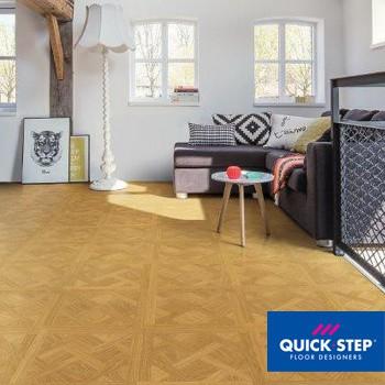 Ламинат Quick-Step Click&Go Versailles CGV 4150 Дуб золотая рожь, класс 33
