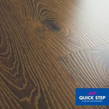 Ламинат Quick Step Desire UC 3466 Дуб белый затемненный золотистый, класс 32