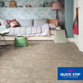 Ламинат Quick Step Impressive Patterns IPA 4141 Дуб серый теплый брашированный, класс 33