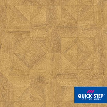 Ламинат Quick Step Impressive Patterns IPA 4143 Дуб природный бежевый брашированный, класс 33