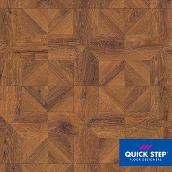 Ламинат Quick Step Impressive Patterns IPA 4144 Дуб медный брашированный, класс 33