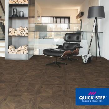 Ламинат Quick Step Impressive Patterns IPA 4145 Дуб кофейный брашированный, класс 33