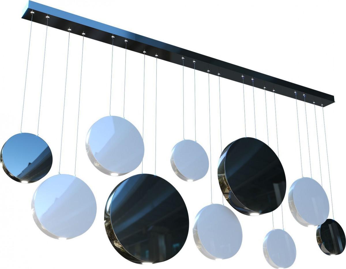 Альбедо DКомпозиция из диаметров 300, 400, 500, 600 B60-120(Нижняя) 30-60(Верхняя) Лампы: 1 х G9
