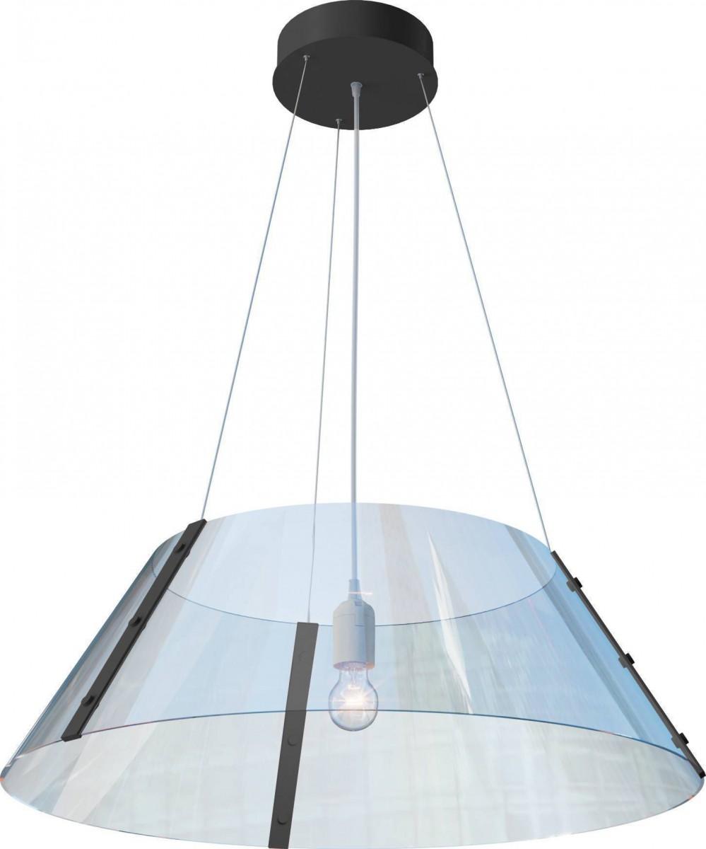 Гнутый акрил (Конус) D600(Нижняя часть) - 370 (Верхняя часть) H200 Лампы: 1 х Е27