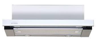 Elikor Интегра GLASS 50Н-400-В2Д  нерж/стекло белое