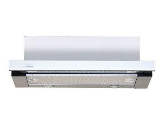 Elikor Интегра GLASS 60Н-400-В2Д нерж/стекло белое