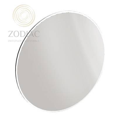 NOKEN Lounge Зеркало с рамой из лакированного дерева круглое белое