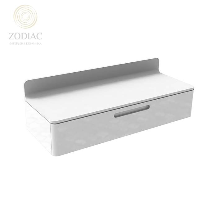 NOKEN Mood Комплект (столешница+подвесной ящик) белый/белый