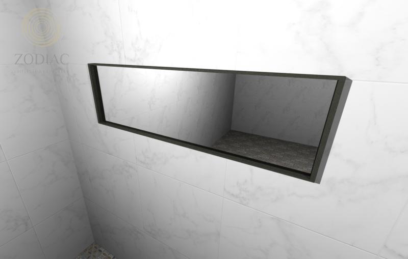 GAMA DECOR Ciclo Зеркало 120x36x4,5 см