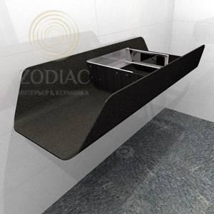 GAMA DECOR Duna столешница 120х20х52 см под раковину Sable