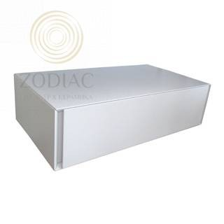 GAMA DECOR In Тумба подвесная 90х24х48 см с выдвижным ящиком  Lacado Brillo Plomo