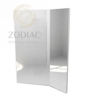 GAMA DECOR In Зеркало 70х96х17 см вращающееся левое Lacado Brillo Plomo