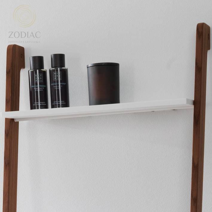 SYSTEM-POOL Полочка-ступенька 46х42 см для лестницы крион белая
