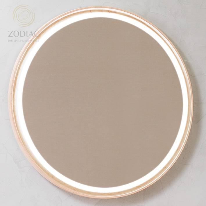 SYSTEM-POOL Tono Зеркало D95 см крион/клен