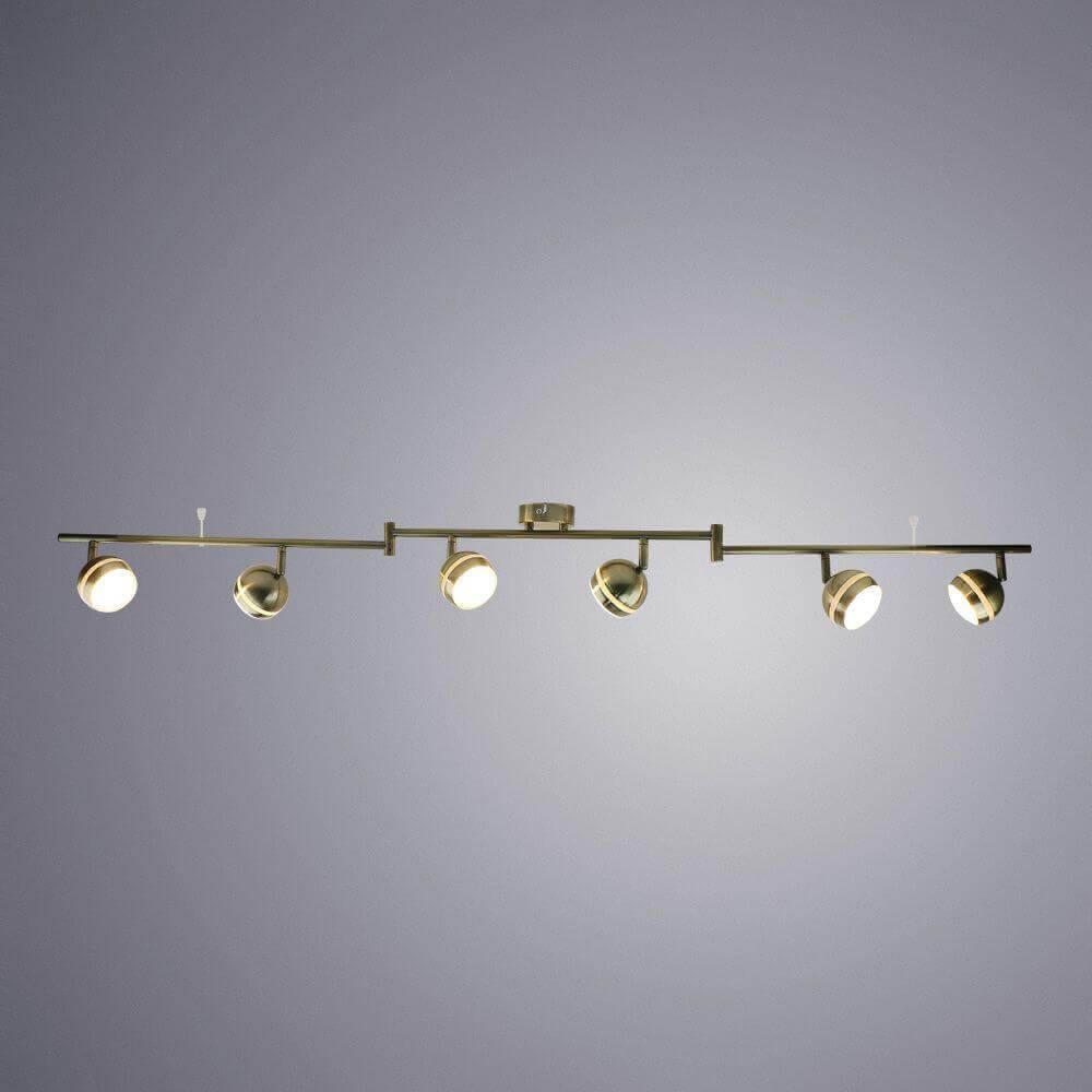 Трековая светодиодная система Arte Lamp Venerd A6009PL-6AB