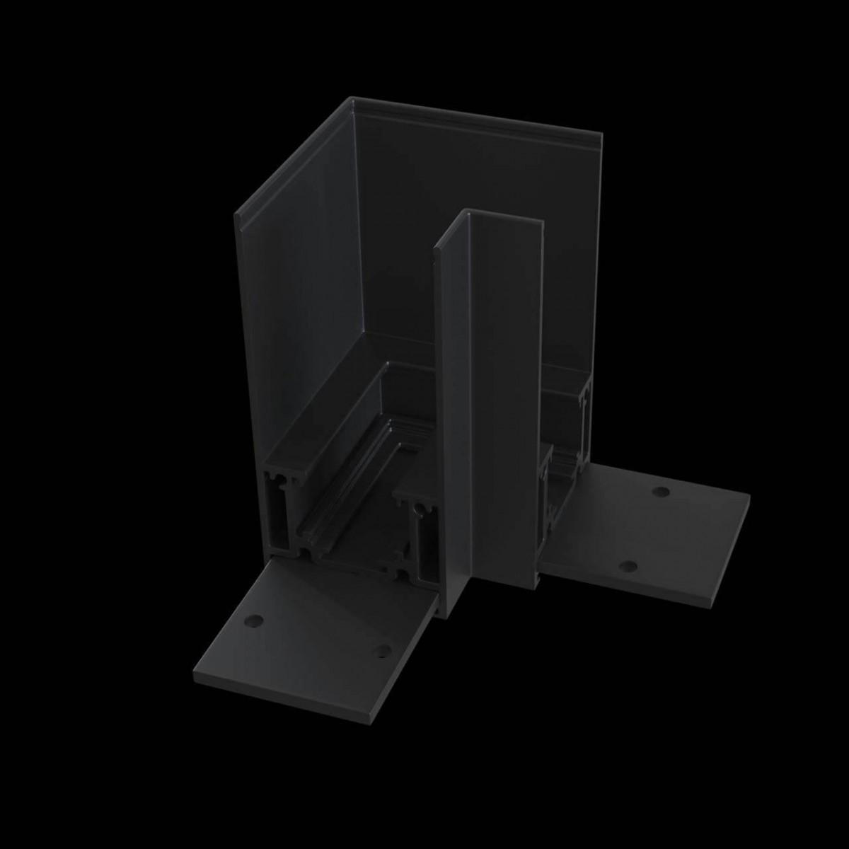 Угловой коннектор Maytoni Accessories for tracks TRA004CL-21B