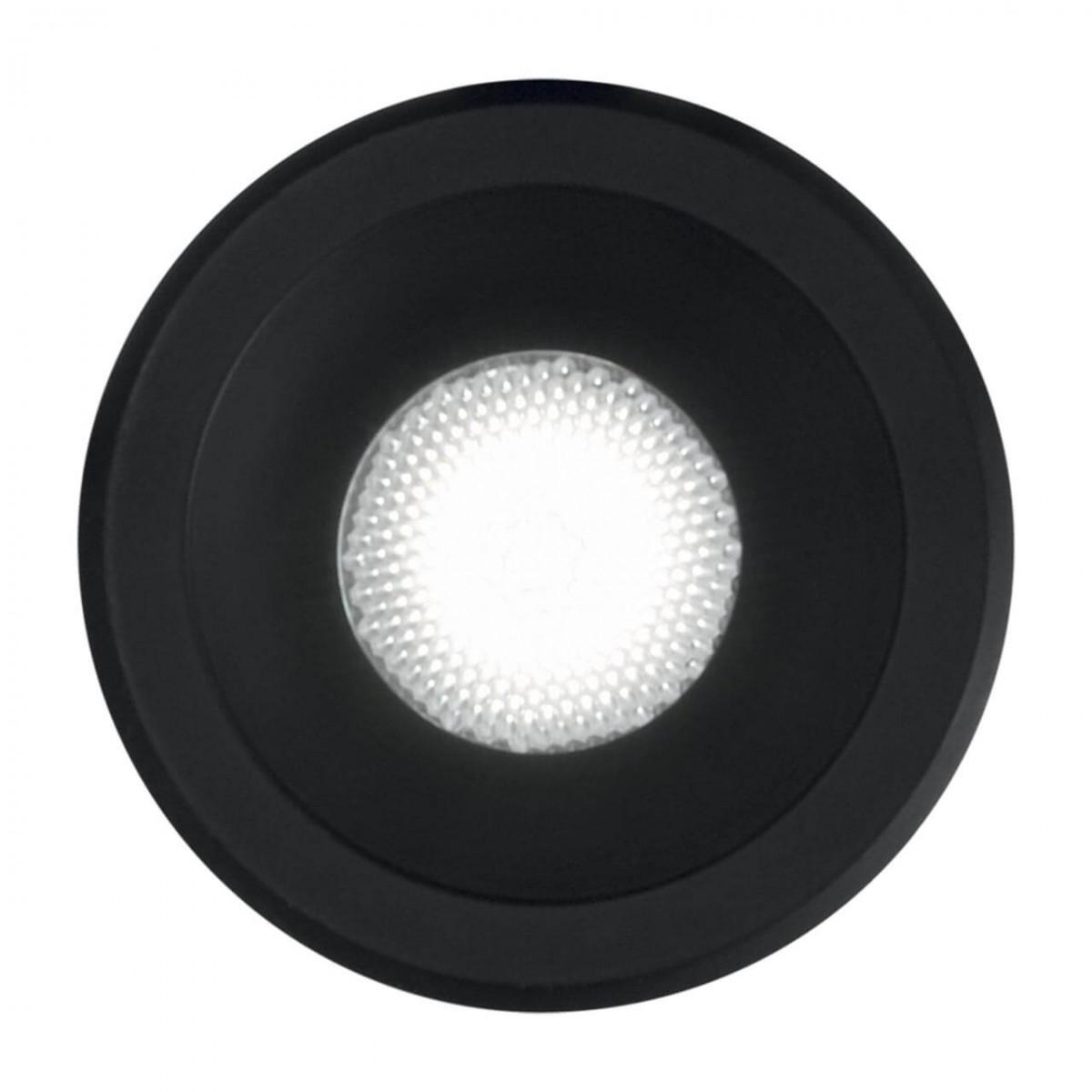 Встраиваемый светодиодный светильник Ideal Lux Virus BK BK