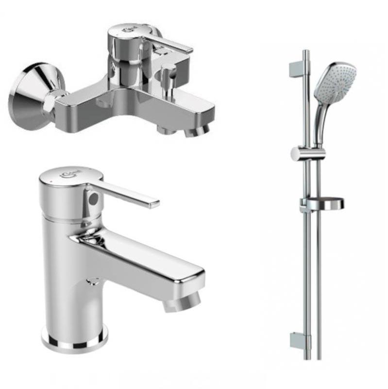 Набор смесителей и душевой гарнитур Ideal Standard Set IDEALSTYLE B1431AA