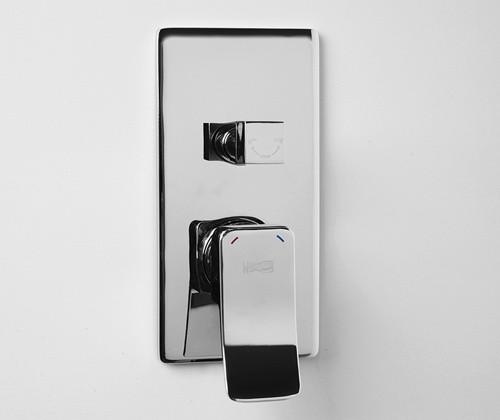 Смеситель WasserKRAFT Aller 10641 для ванны и душа, хром