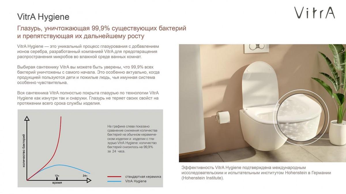 Раковина Vitra Arkitekt 6069B003-0012 встраиваемая 52 см