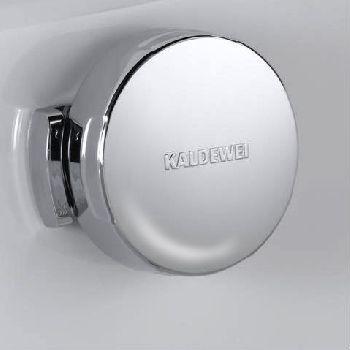 Слив-перелив Kaldewei мод. KA 4060 6877.7204.0001 для Asymmetric Duo с эмалированными крышками слива и перелива