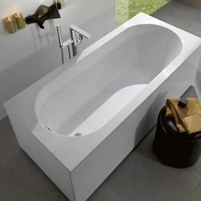Акриловая ванна Villeroy&Boch Oberon UBQ170OBE2V-01, 170x75 см, alpin