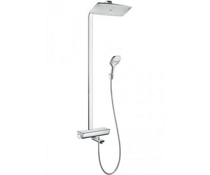 Душевая система Hansgrohe Raindance Select e 360 Showerpipe для ванны с термостатом хром 27113000 360