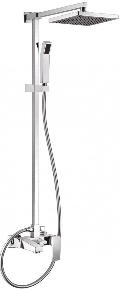 Душевая система Cezares QUATTRO-CVD-01-S для ванны и душа, хром