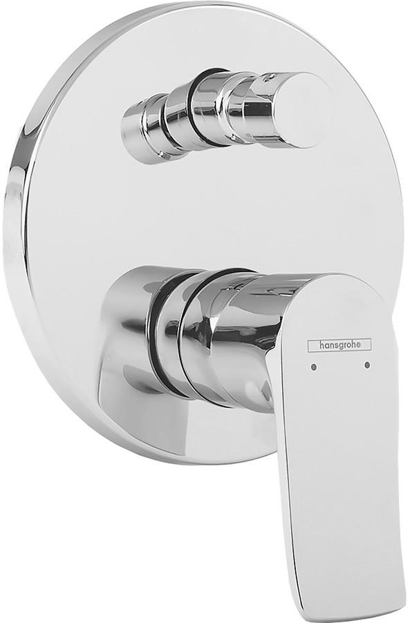 Смеситель Hansgrohe Metris, 31493000 для ванны и душа, внешняя часть