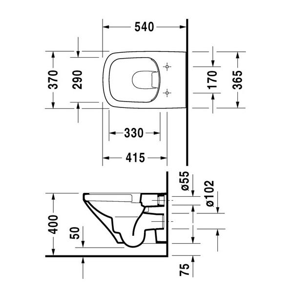Инсталляция Roca с унитазом Roca Gap 346477000, сиденье микролифт, комплект