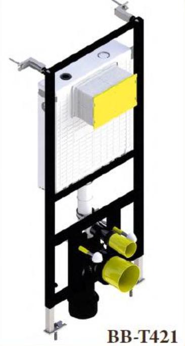 Инсталляция BelBagno BB-T421 для подвесного унитаза