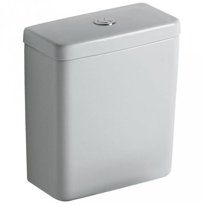 Унитаз компакт Ideal Standard Connect Е803701 с бачком E797001, безободковый