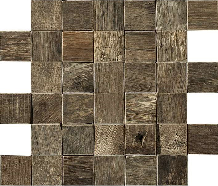 Мозаика L Antic Colonial Weft Wood Square Antique