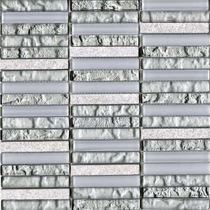 Мозаика L Antic Colonial Essential Tecno Linear Silver White