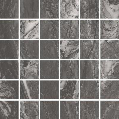 Мозаика Azteca Domino Soft black msc. 4.8 30x30