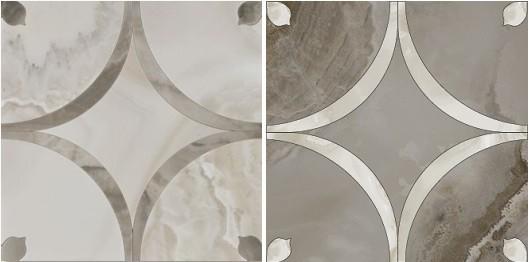 Декор керамогранит Colorker Odyssey Roseton Valiant (set 2 pzs)