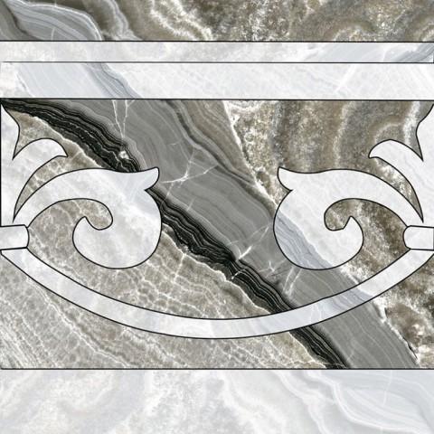 Декор керамогранит Colorker Invictus Cenefa Pulido 60